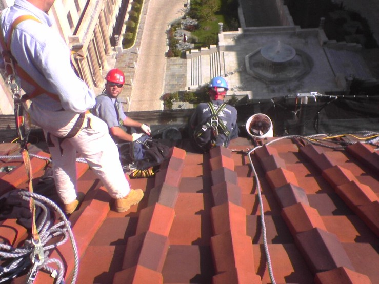Robert F Kennedy Department of Justice roof tile repair 2006